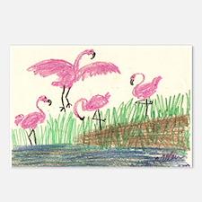 Flamingo Marsh Postcards (Package of 8)