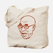 Laughing Dalai Lama Tote Bag