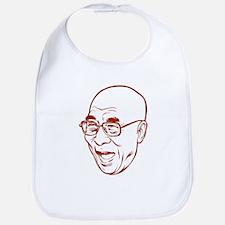 Laughing Dalai Lama Bib