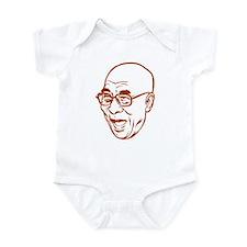 Laughing Dalai Lama Infant Bodysuit