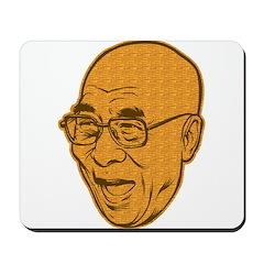 Laughing Dalai Lama Mousepad