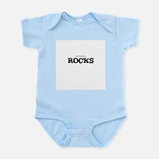 BRUNELLO DI MONTALCINO ROCKS Infant Creeper