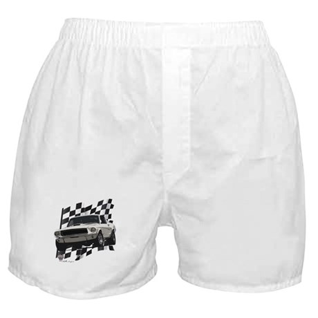 Plain Horse Boxer Shorts