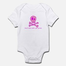 Pink Pirate Infant Bodysuit