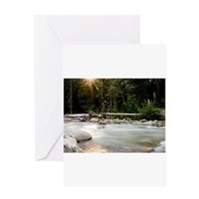 Light on the Hood River Greeting Card