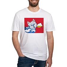 White Wine Westie Shirt