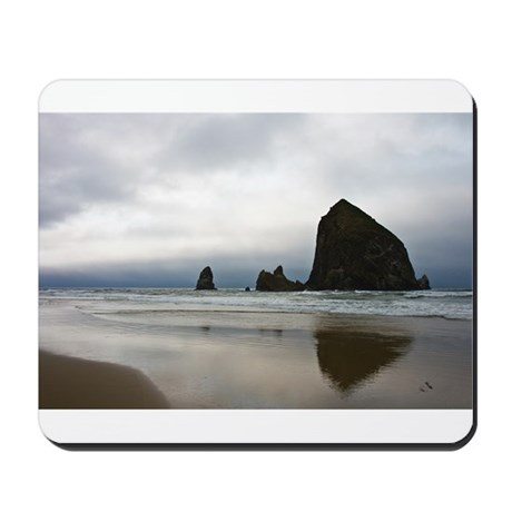 Rocks on Cannon Beach Mousepad