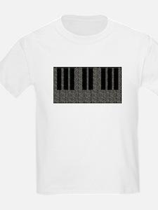 Elephant Piano Kids T-Shirt