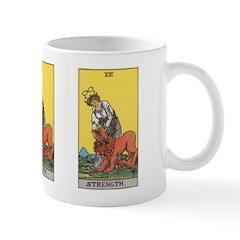 08 Tarot Strength Card Mug