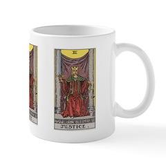 11 Tarot Justice Mug
