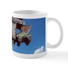 Red Wing Rollerway Skate Mug