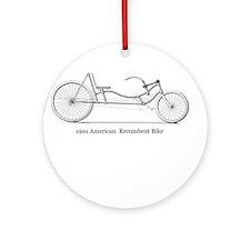 Patent Art Ornament (Round)