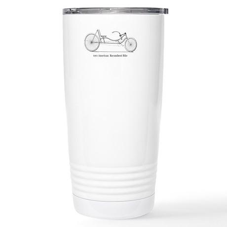 Patent Art Stainless Steel Travel Mug