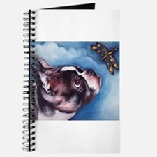 Boston Terrier and Dragonfly Journal
