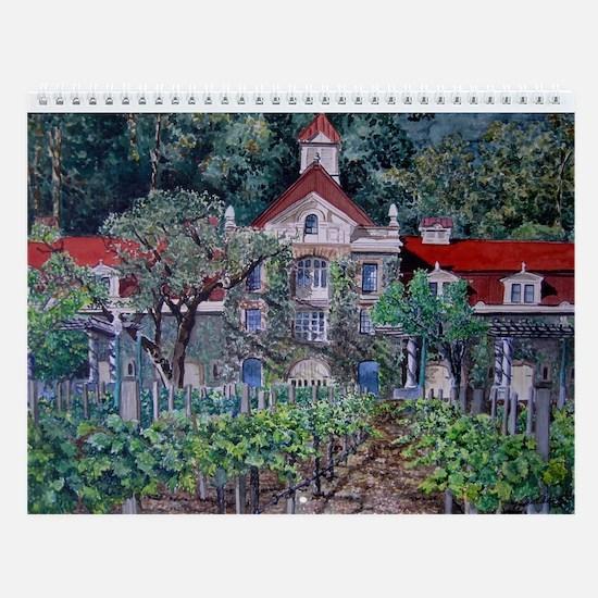 Wall Calendar Napa Valley Scenes