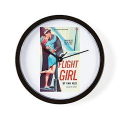 """Wall Clock - """"Flight Girl"""""""