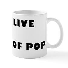 Long Live The King Of Pop Small Mug
