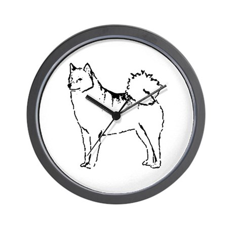 Finnish Spitz Wall Clock
