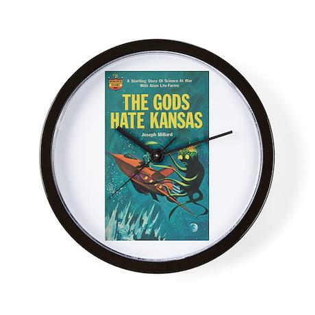 "Wall Clock - ""The Gods Hate Kansas"""