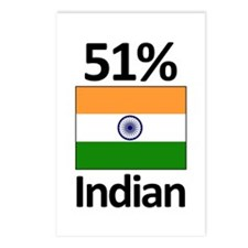 51% Indian Postcards (Package of 8)