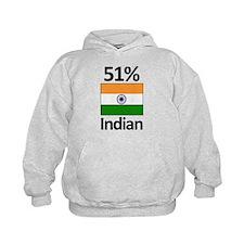 51% Indian Hoodie