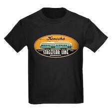 Kenosha Streetcar Kids Black T-Shirt