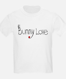 Bunny Love Kids T-Shirt