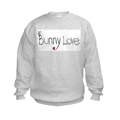 Bunny Love Kids Sweatshirt