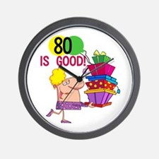 80 is Good Wall Clock