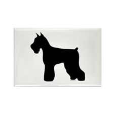 Silhouette #4 Rectangle Magnet (100 pack)