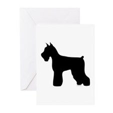 Silhouette #4 Greeting Cards (Pk of 10)