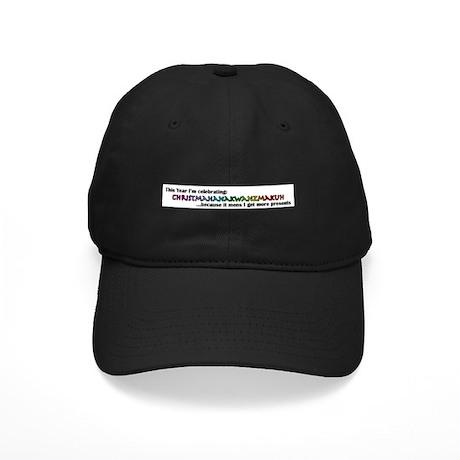 Christmahanakwanzmakuh Black Cap