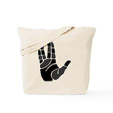 Hand Salute Tote Bag