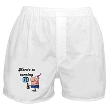 70th Birthday Boxer Shorts