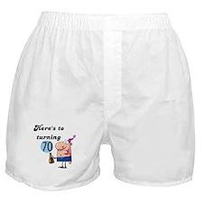 70th Birthday Boxer Shorts