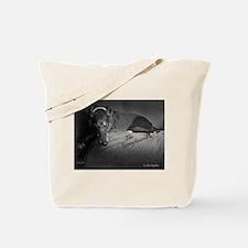 Cute Greyhound rescue Tote Bag