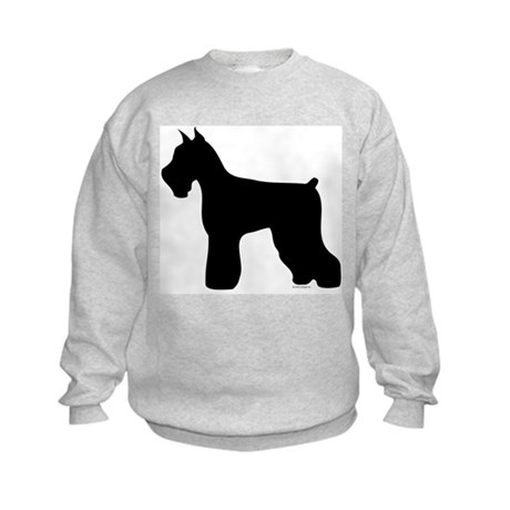 Silhouette #4 Kids Sweatshirt