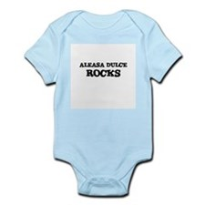 ALEASA DULCE ROCKS Infant Creeper