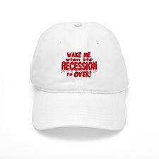 Wake Me RECESSION Baseball Cap