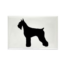 Silhouette #5 Rectangle Magnet (100 pack)