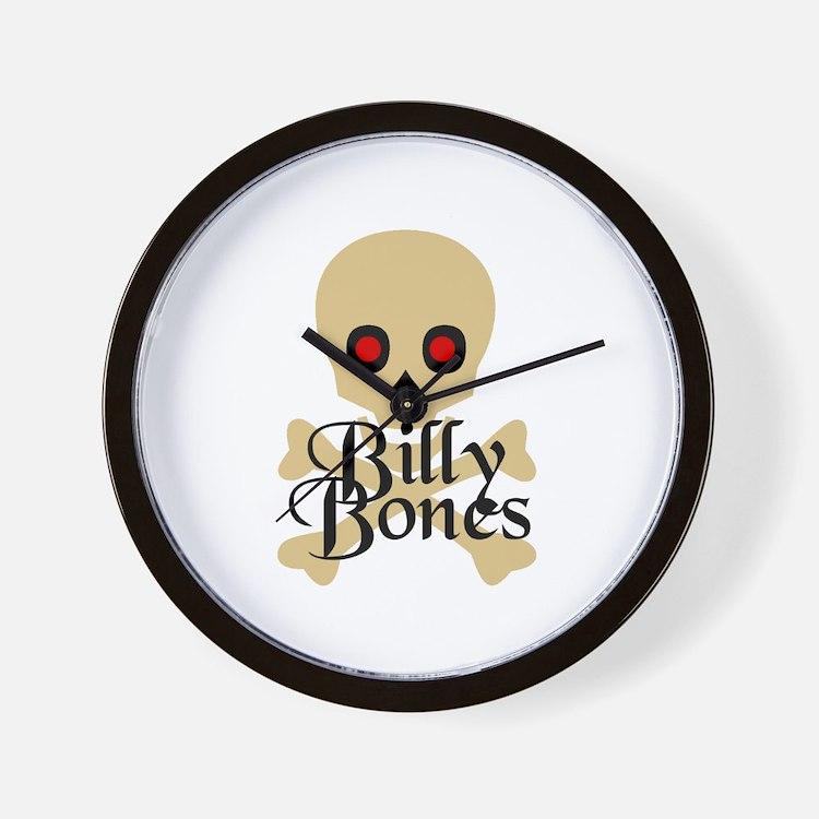 Billy Bones Wall Clock