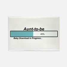 Download Aunt to Be Rectangle Magnet