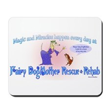 Fairy Dogmother Rescue & Reha Mousepad