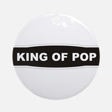 KING OF POP Ornament (Round)