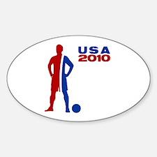 USA 2010 - Oval Decal