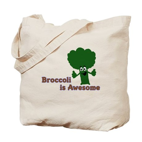 Broccoli is Awesome! Tote Bag