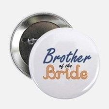 "Brother of the Bride 2.25"" Button"