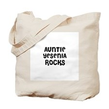 AUNTIE YESENIA ROCKS Tote Bag