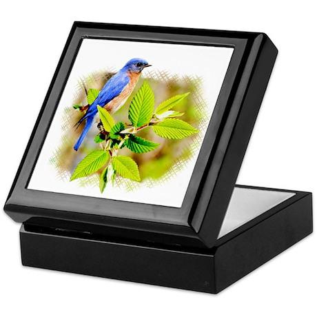 Eastern Bluebird Keepsake Box