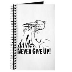 Never Give Up! Journal